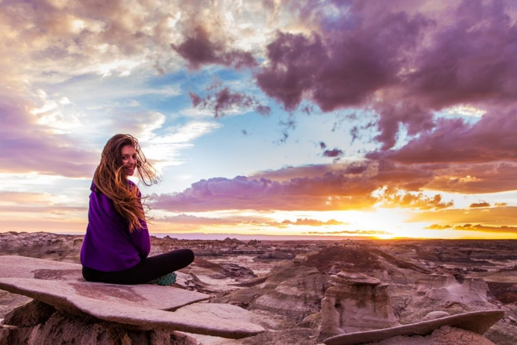 Grand Canyon-smile-woman