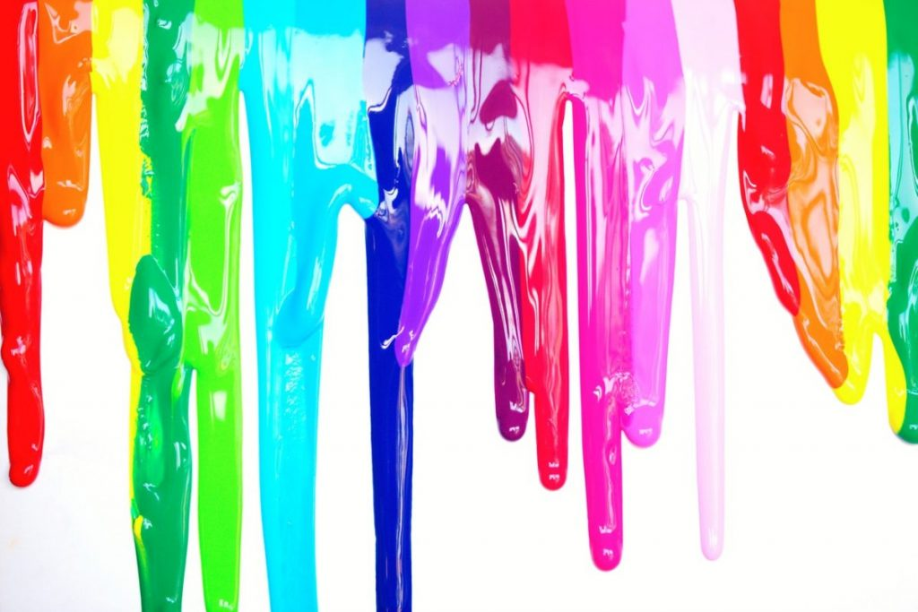 multicolored-paint-drippings